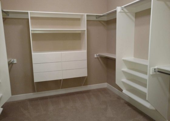 Denver Custom Shelves Bookcases Bench Seats Closets